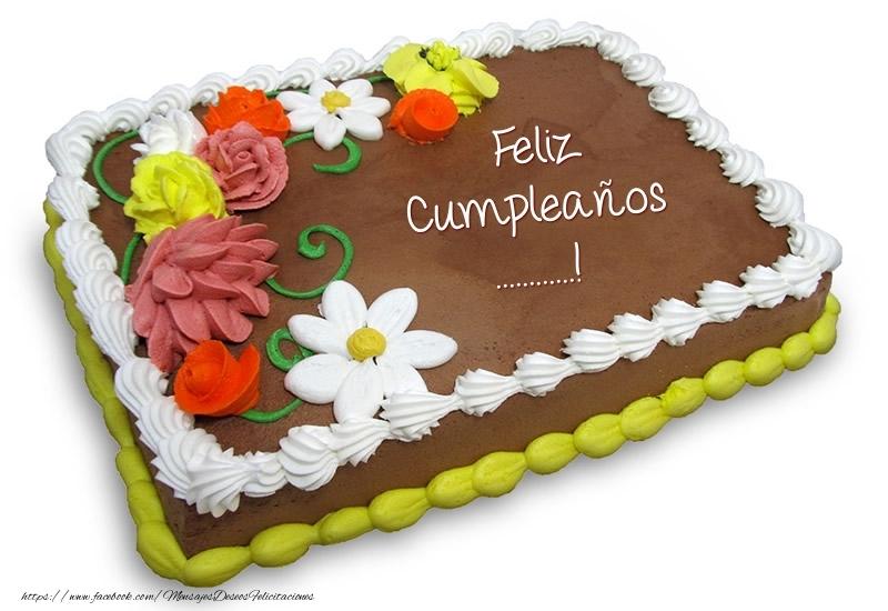 Felicitaciones Personalizadas de cumpleaños - Torta al cioccolato: Buon Compleanno ...!