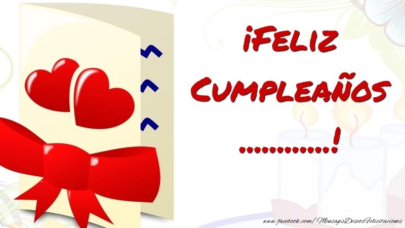 Felicitaciones Personalizadas de cumpleaños - ¡Feliz Cumpleaños ...