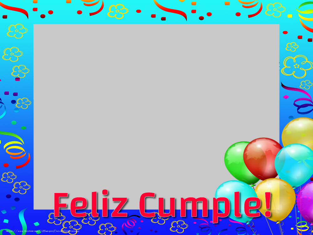 Felicitaciones Personalizadas de cumpleaños - Feliz Cumple!