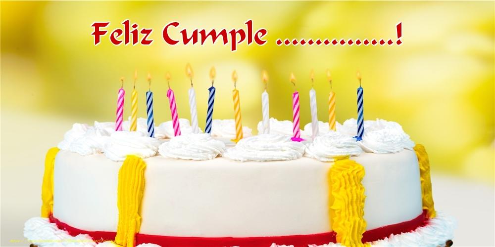 Felicitaciones Personalizadas de cumpleaños - Feliz Cumple ...!