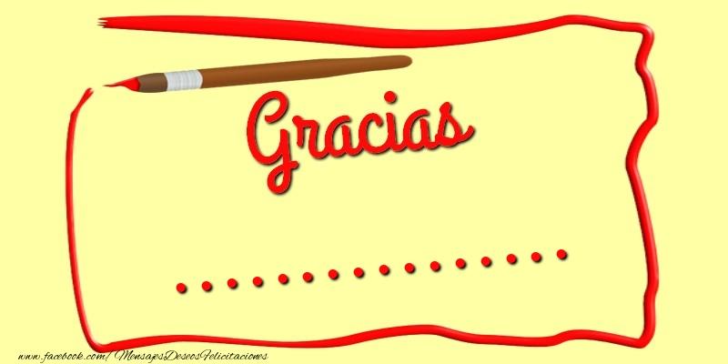 Felicitaciones Personalizadas de gracias - Gracias ...