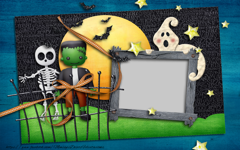 Felicitaciones Personalizadas de halloween - Halloween
