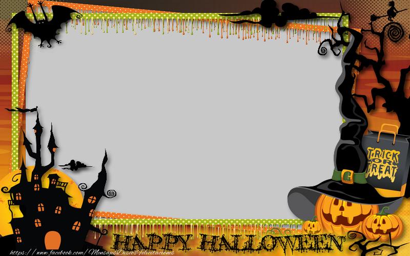 Felicitaciones Personalizadas de halloween - Happy Halloween!