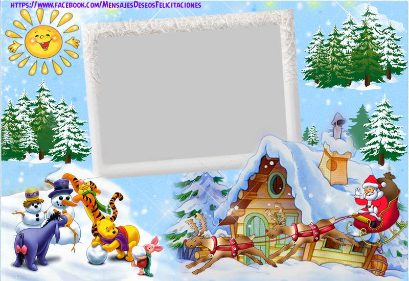 Felicitaciones Personalizadas de Navidad - Feliz Navidad