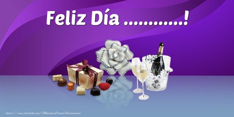 Felicitaciones Personalizadas de Onomástica - Feliz Día ...!