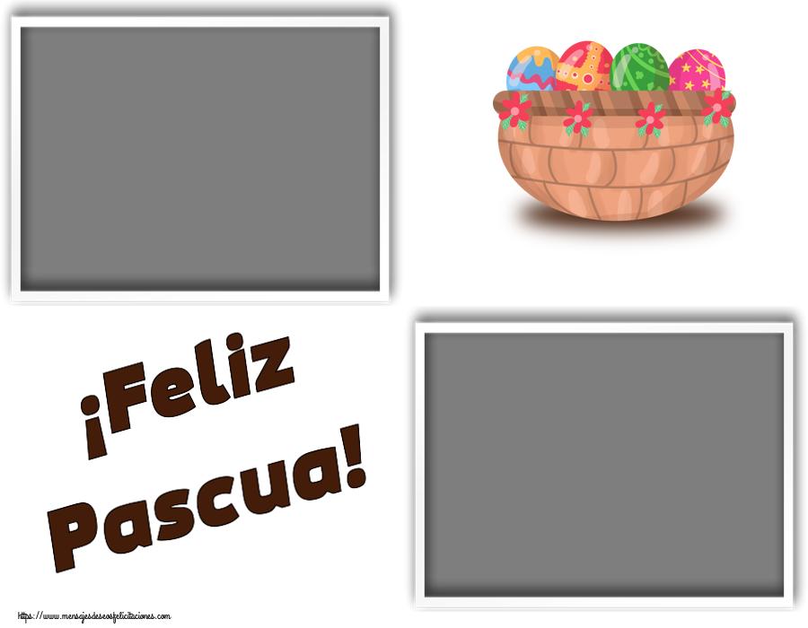 Felicitaciones Personalizadas de pascua - ¡Feliz Pascua! - Marco de foto