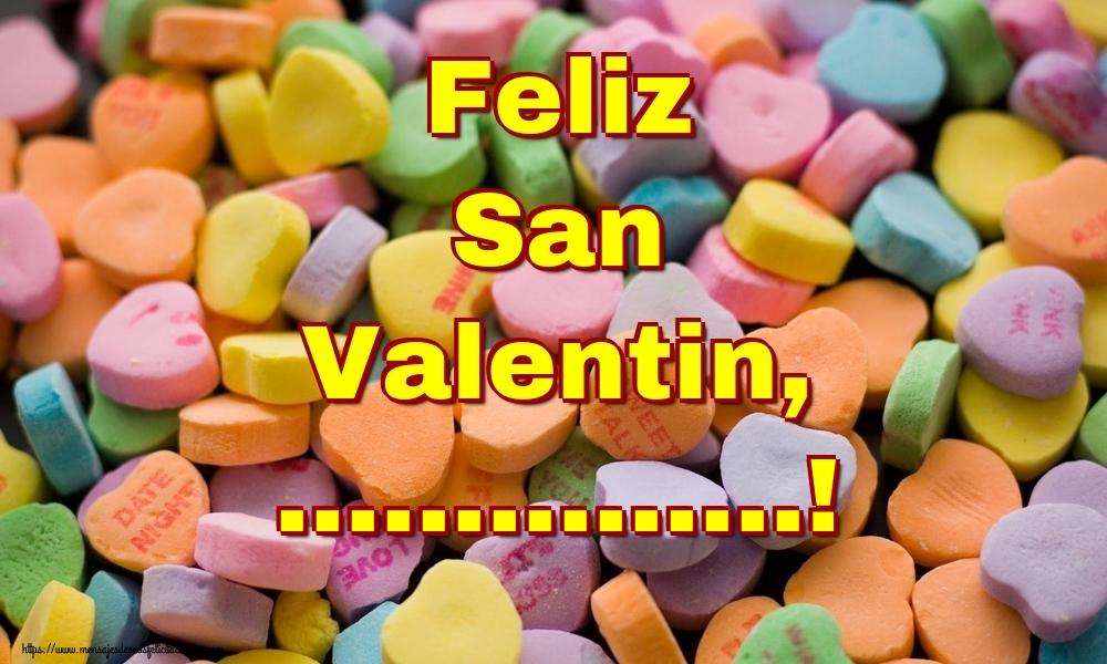Felicitaciones Personalizadas de San Valentín - Feliz San Valentin, ...!