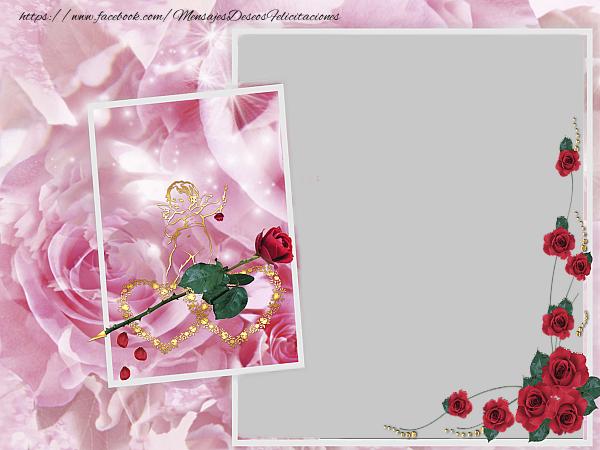 Felicitaciones Personalizadas de San Valentín - Tarjeta de felicitación de San Valentín