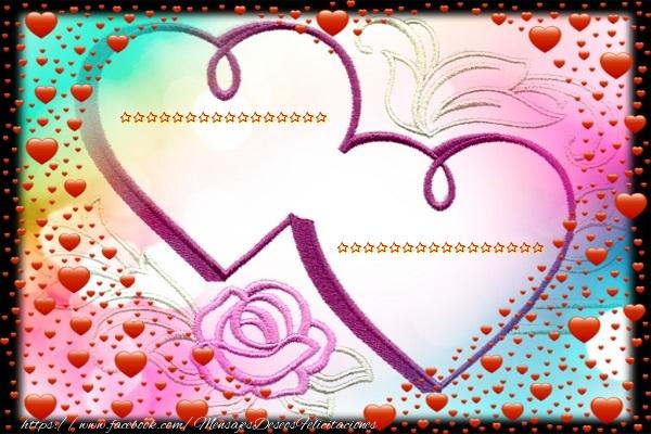 Felicitaciones Personalizadas de San Valentín - ... ...
