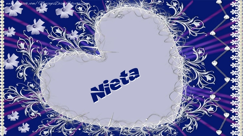 Felicitaciones de amor para nieta - Nieta