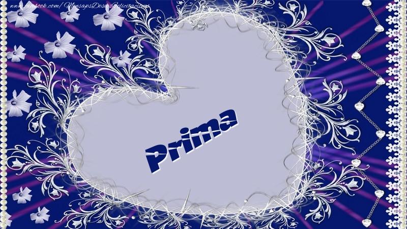 Felicitaciones de amor para prima - Prima
