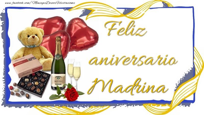 Felicitaciones de aniversario para madrina - Feliz aniversario madrina
