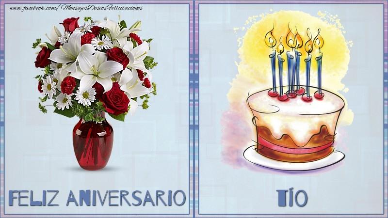 Felicitaciones de aniversario para tío - Feliz aniversario tío