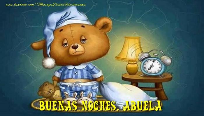 Felicitaciones de buenas noches para abuela - Buenas Noches, abuela