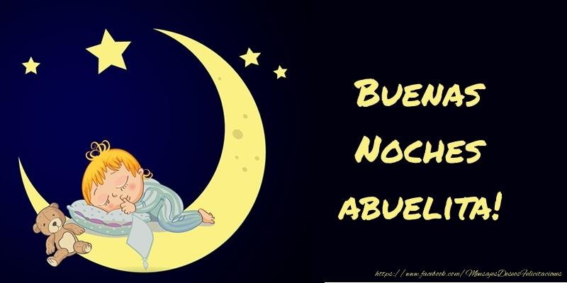 Felicitaciones de buenas noches para abuela - Buenas Noches abuelita!