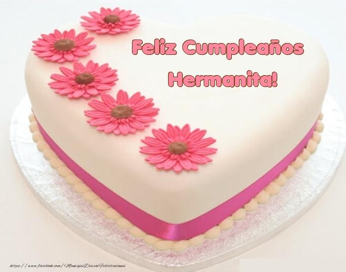 Felicitaciones de cumpleaños para hermana - Feliz Cumpleaños hermanita! - Tartas