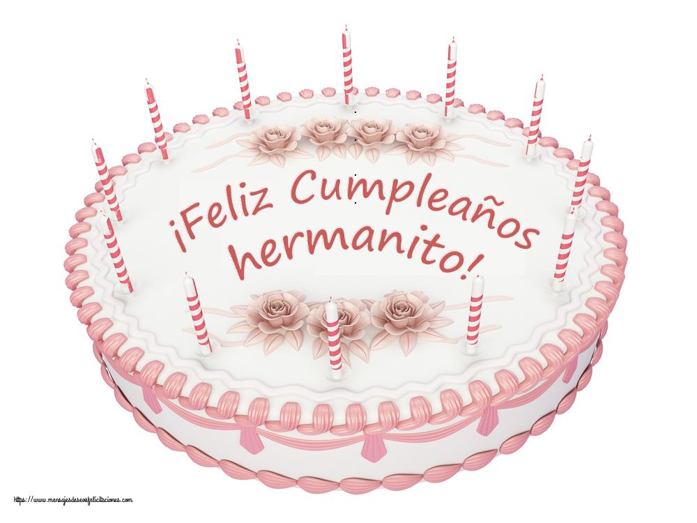 Felicitaciones de cumpleaños para hermano - ¡Feliz Cumpleaños hermanito! - Tartas