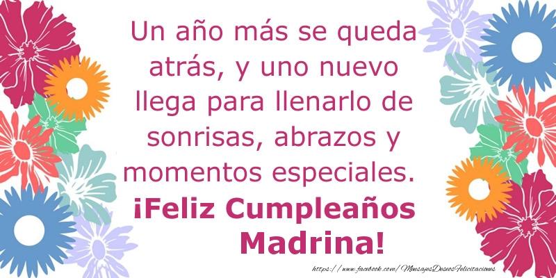 f5e1140ac6 Felicitaciones de cumpleaños para madrina - Un año más se queda atrás