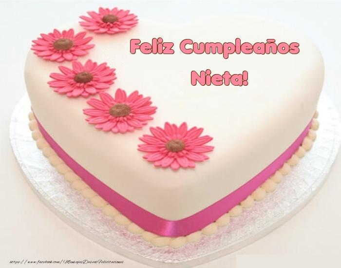 Felicitaciones de cumpleaños para nieta - Feliz Cumpleaños nieta! - Tartas