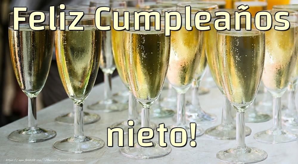 Felicitaciones de cumpleaños para nieto - Feliz Cumpleaños nieto!