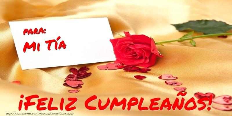 Felicitaciones De Cumpleaños Para Tía Para Mi Tía Feliz