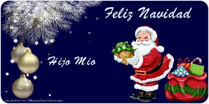 Feliz navidad hijo mio