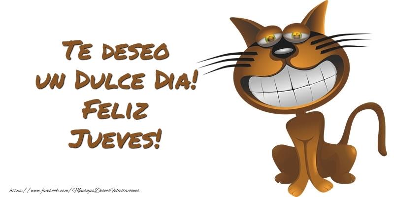 Te deseo un Dulce Dia! Feliz Jueves!