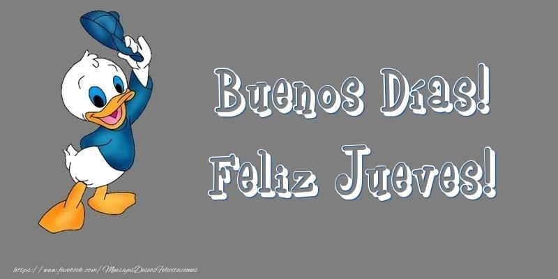 Buenos Días! Feliz Jueves!