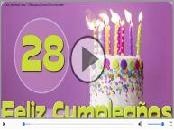 ¡Feliz cumple 28 años!