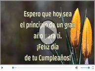 ¡Feliz día  de tu Cumpleaños!